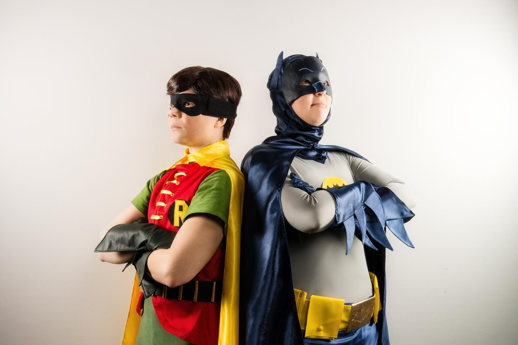 Rainbow Riders - Batman + Robin