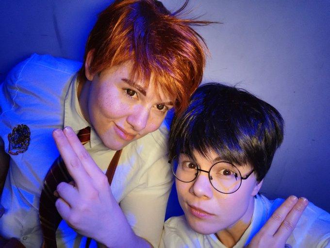 Rainbow Riders - Harry & Ron